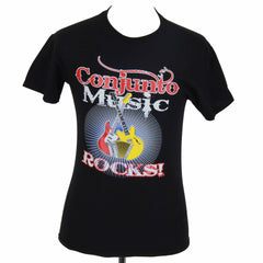 Conjunto Music Rocks #1Black t-Shirt