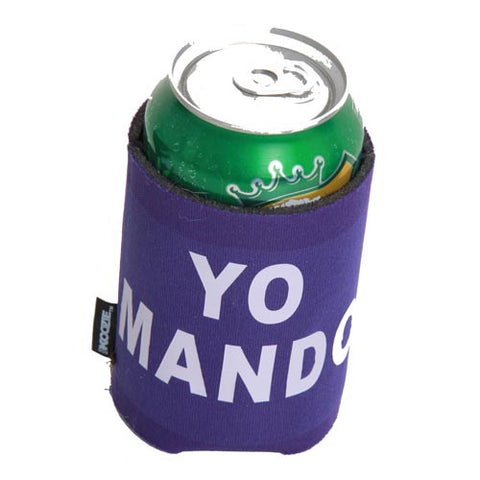 Yo Mando Purple Koozie