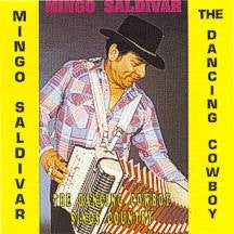 Mingo Saldivar - The Dancing Cowboy Sings Country
