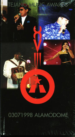 18th Annual Tejano Music Awards VHS Video  1998  W/ free DVD of same VHS