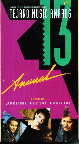 13th Annual Tejano Music Awards Video on VHS 1993 W/ free DVD of same VHS