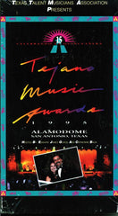 15th Annual Tejano Music Awards 1995 VIDEO on VHS  W/ free DVD of same VHS