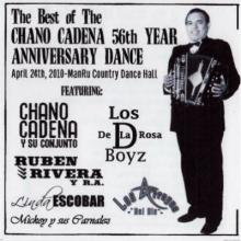 Chano Cadena - 56th Year Anniversary Dance