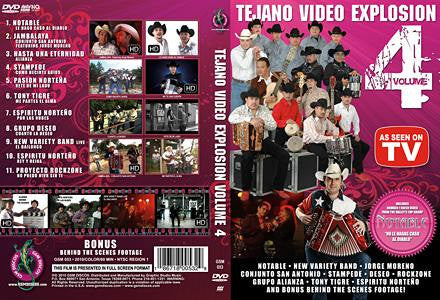 Tejano Video Explosion Volume 4 DVD