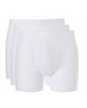 Afbeelding in Gallery-weergave laden, Basic men boxer 3 pack 30223 001 white