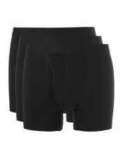 Afbeelding in Gallery-weergave laden, Basic men boxer 3 pack 30223 090 black
