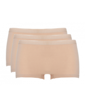 Afbeelding in Gallery-weergave laden, Basic women shorts 3 pack 30190 027 tan