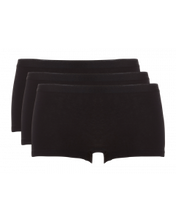 Afbeelding in Gallery-weergave laden, Basic women shorts 3 pack 30190 090 black