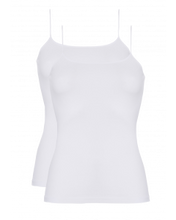 Afbeelding in Gallery-weergave laden, Basic women spaghetti top 2 pc 30198 001 white