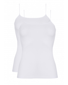 Basic women spaghetti top 2 pc 30198 001 white
