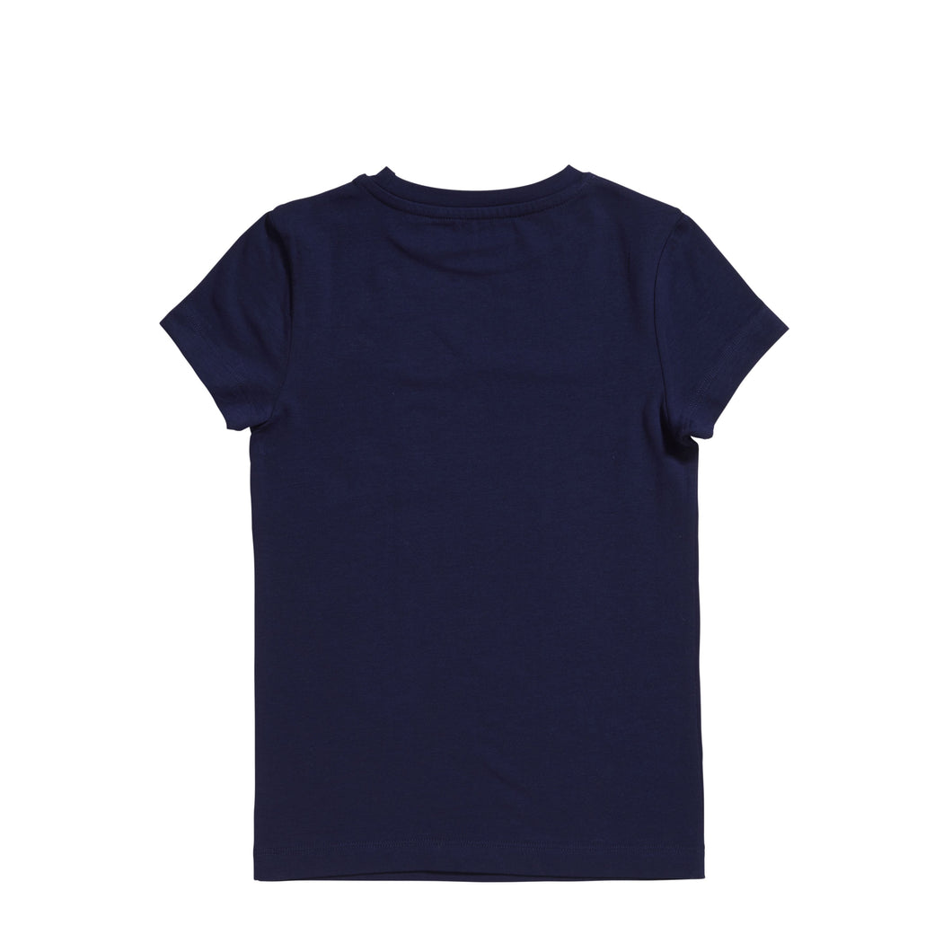 Boys basic t-shirt 30038 984 Deep blue
