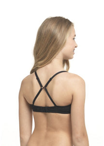 Padded bra with flexwire in cotton 30.05.0040-020 020 Black/AA