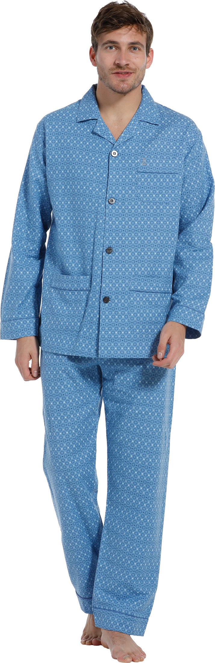 Pyjama 27202-701-6 509 light blue