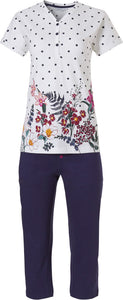 Pyjama capri 20201-196-4 523 dark blue