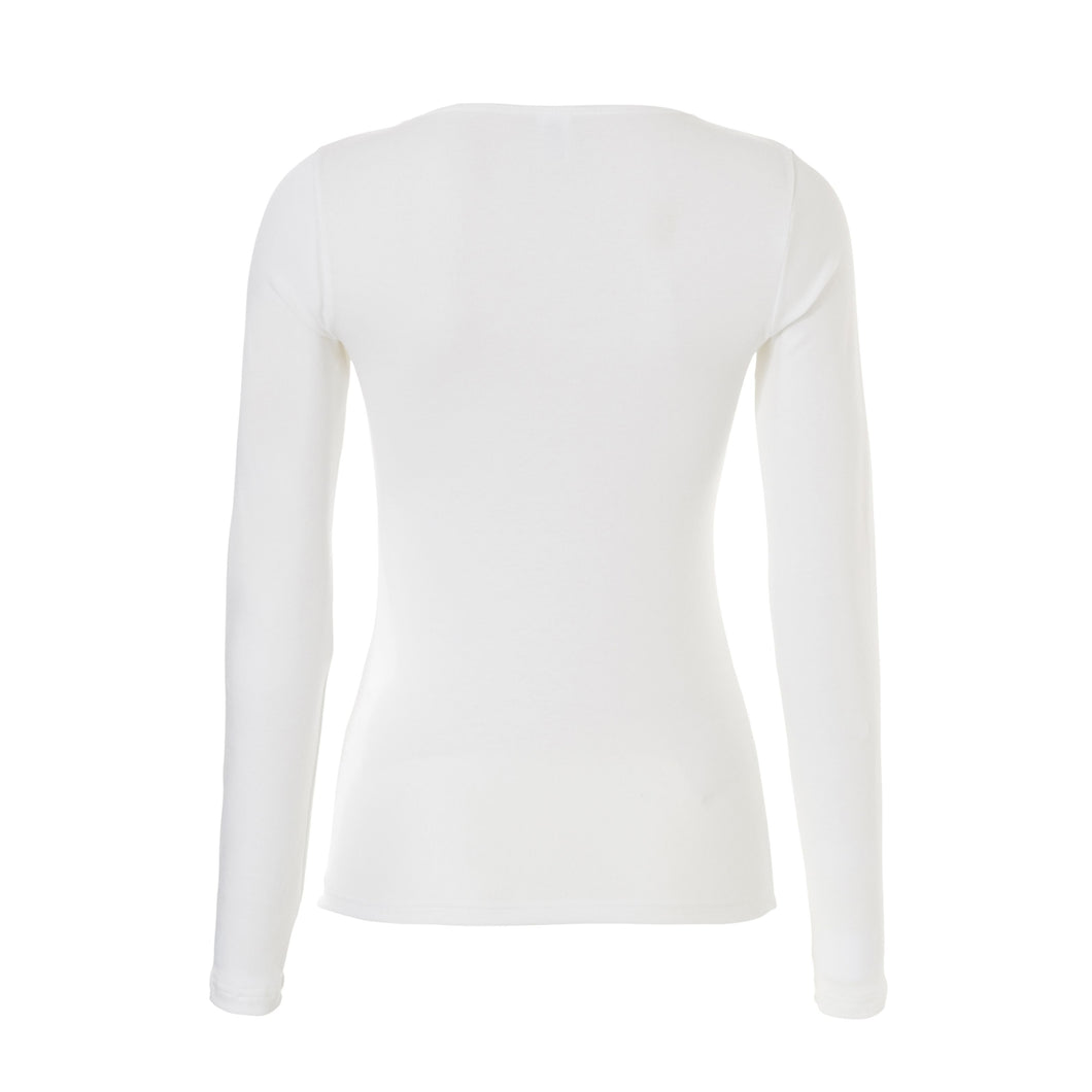 Thermo women long sleeve 30241 015 snow white