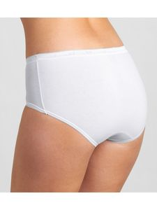 sloggi Basic Midi 4P 10068837 0003 WHITE