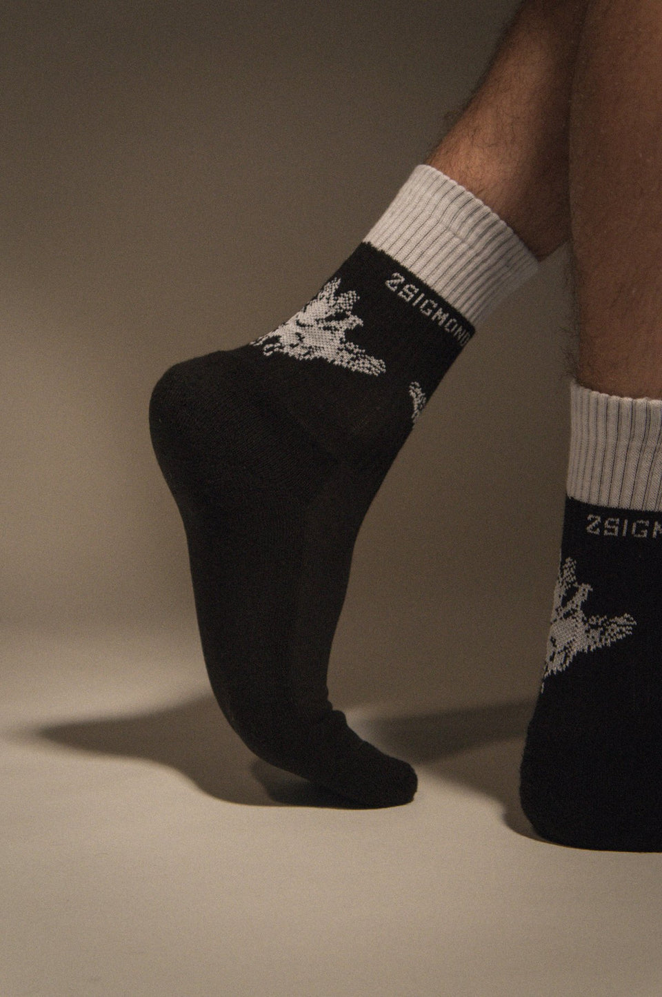 COAL BLACK SOCKS