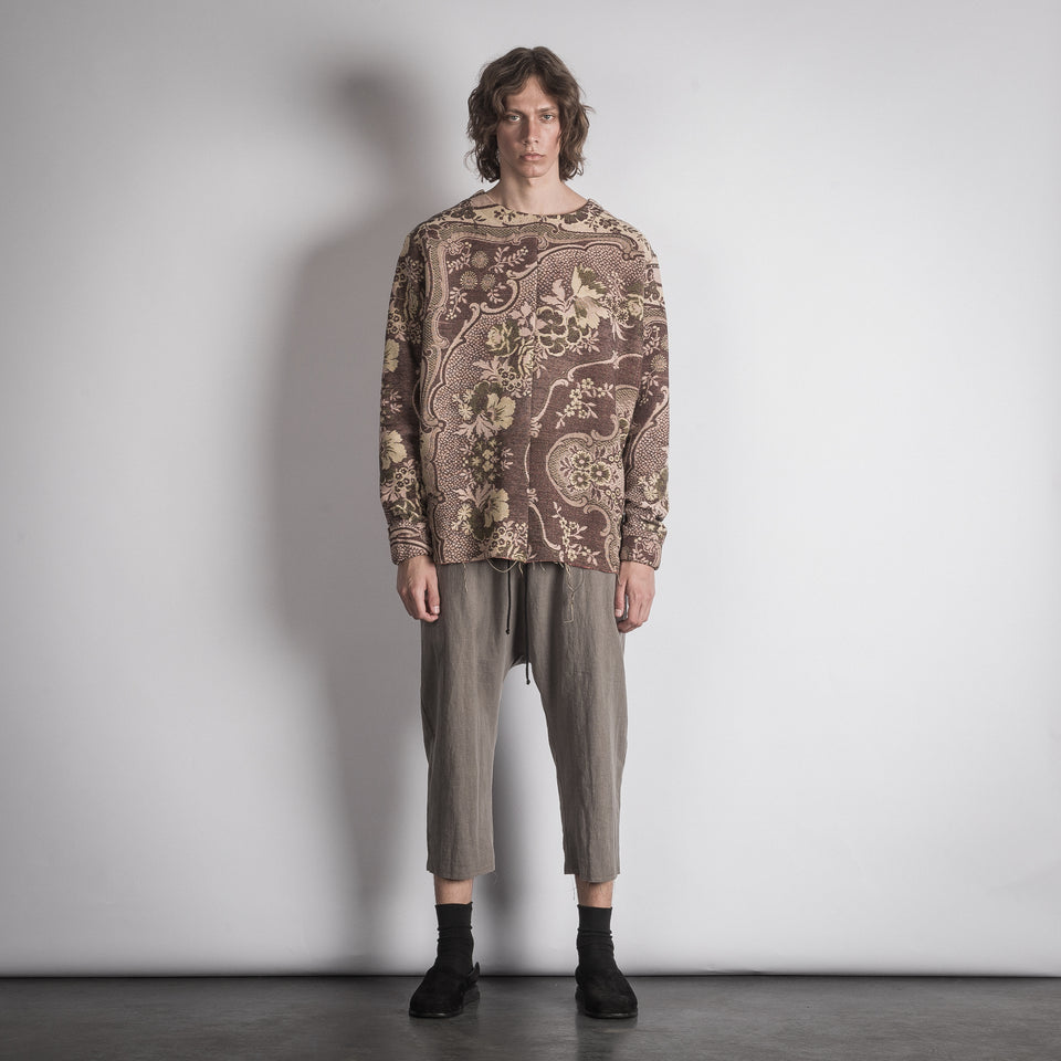 REMADE JACQUARD JUMPER _ TENGELIC