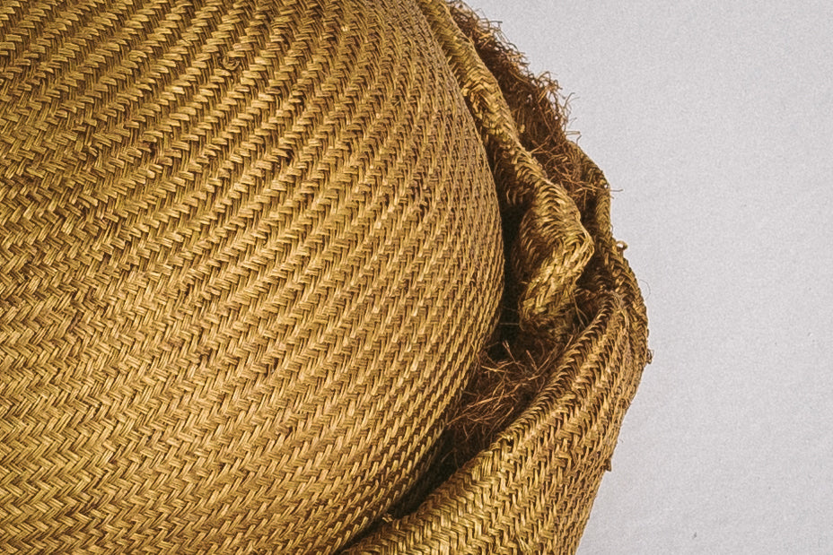 Vecsei Millinery collaboration _ GOLDEN OLIVE HAT _ 57