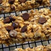 Homemade Pumpkin Spice Granola Bars