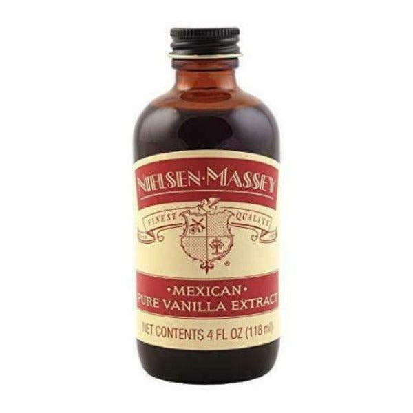 Nielsen-Massey Pure Mexican Vanilla Extract 4 oz Jar