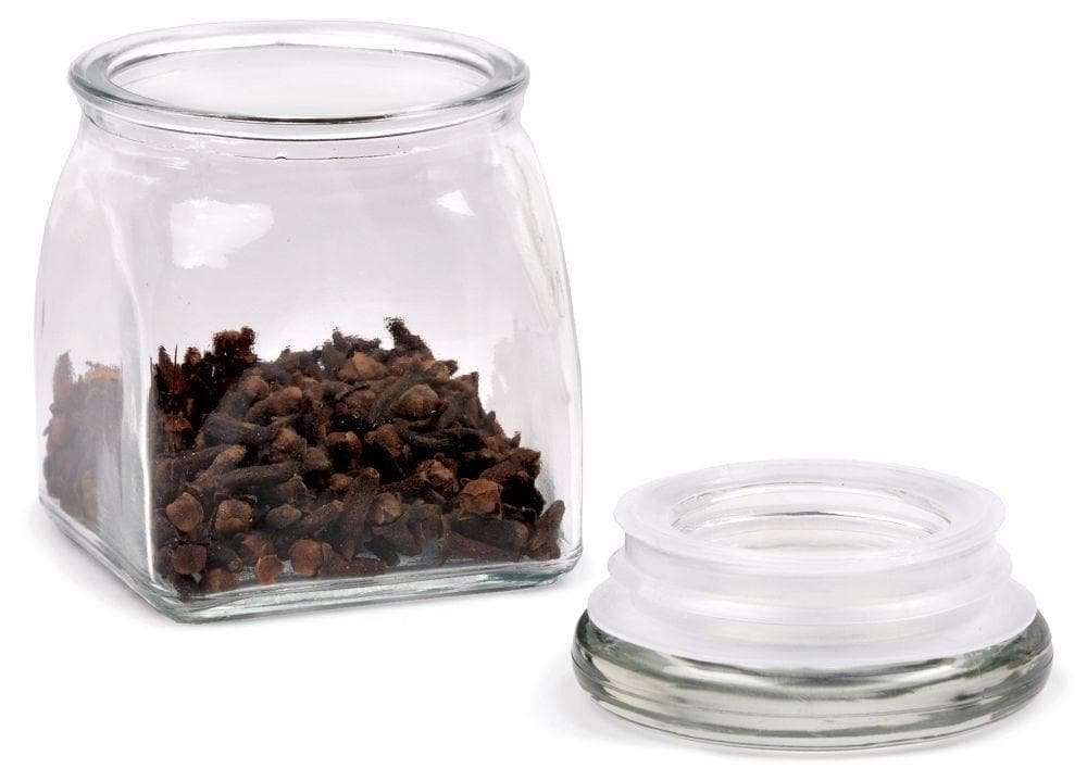 Airtight Glass Spice Jars
