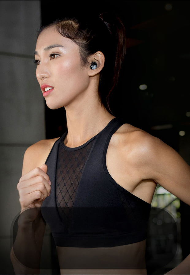 TWS Wireless Bluetooth Earphones 6D Hifi Stereo Bass