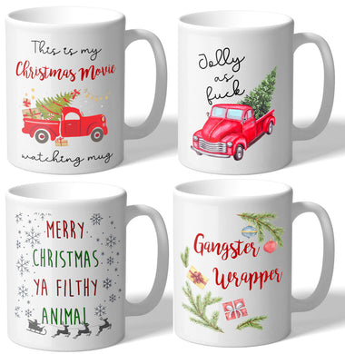 MugBros 2019 Christmas Holiday Mug Collection