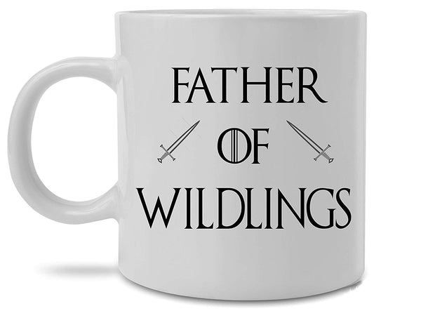 Game of Thrones Father of Wildlings Jon Snow Coffee Mug