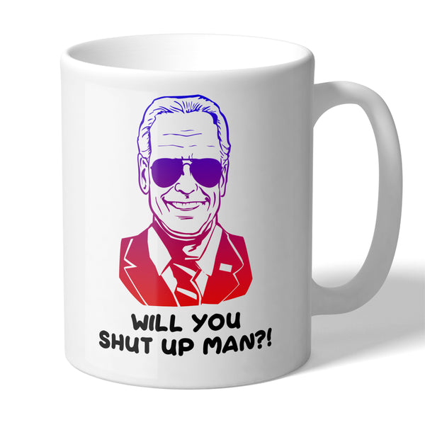 Joe Biden Will You Shut Up Man Funny Novelty 11 Ounce Coffee Mug