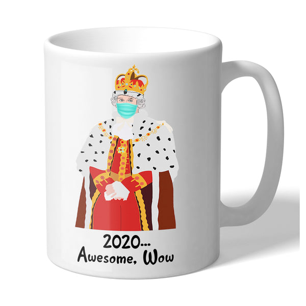 Hamilton Inspired King George 2020 Awesome Wow Funny Novelty 11 Ounce Coffee Mug