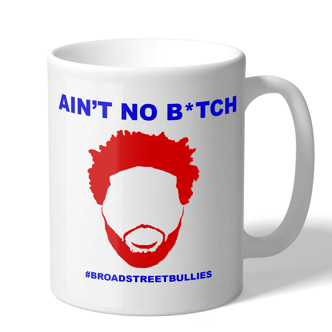 Joel Embiid Aint No B*tch Broad Street Bullies Novelty Sixers Coffee Mug