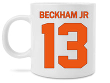New Odell Beckham Jr Cleveland Browns Jersey Coffee Mug