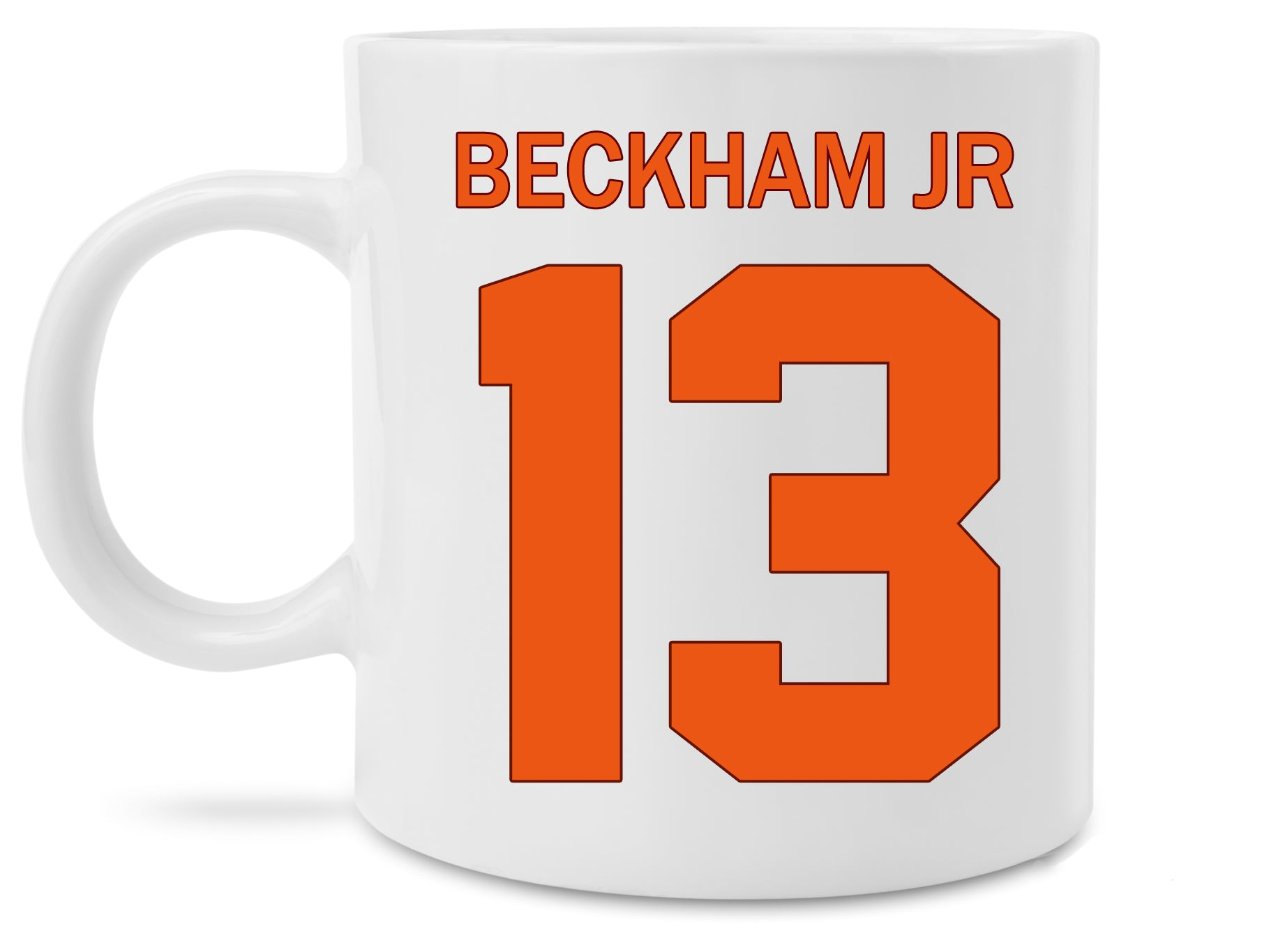 low priced 6a8be 67017 New Odell Beckham Jr Cleveland Browns Jersey Coffee Mug