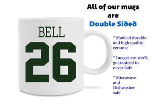 New Le'veon Bell New York Jets Jersey Coffee Mug