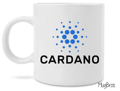 Cardano Crypto Logo Cryptocurrency Coffee Mug