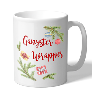 Gangster Wrapper Novelty 11 Ounce Holiday Coffee Mug