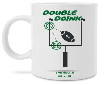 Double Doink Philly Special Eagles Bears Missed Field Goal Nick Foles Trick Play Coffee Mug T Shirt