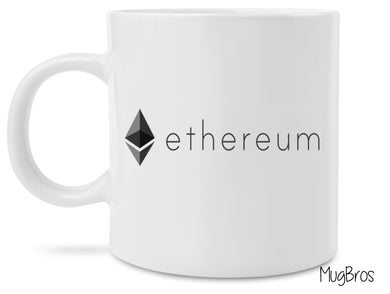 Ethereum Logo Crypto Currency Coffee Mug