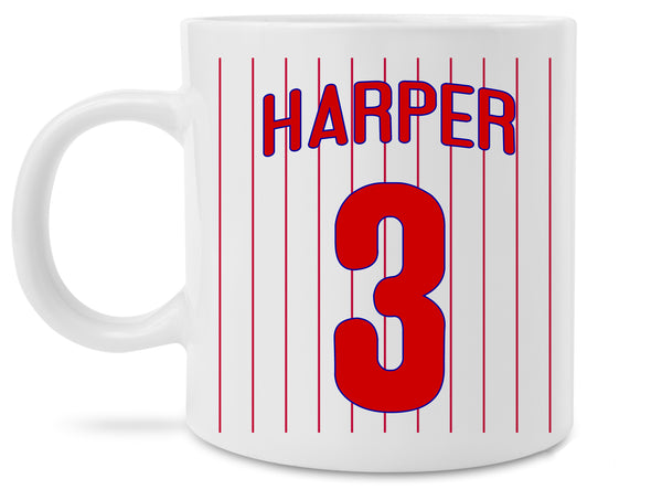 New Bryce Harper Philadelphia Phillies Jersey Coffee Mug