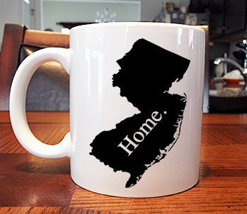 New Jersey Home Coffee Mug