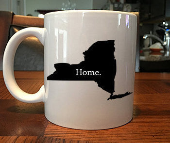 New York Home Coffee Mug
