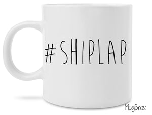 Funny Cute #Shiplap Fixer Upper Inspired Coffee Mug