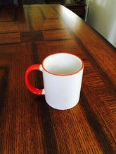 Funny UNT with Red Handle Coffee or Tea Mug