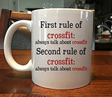 Funny Rules of Crossfit Coffee Coffee Mug