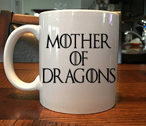 Game of Thrones Inspired Mother of Dragons Coffee Gift Mug