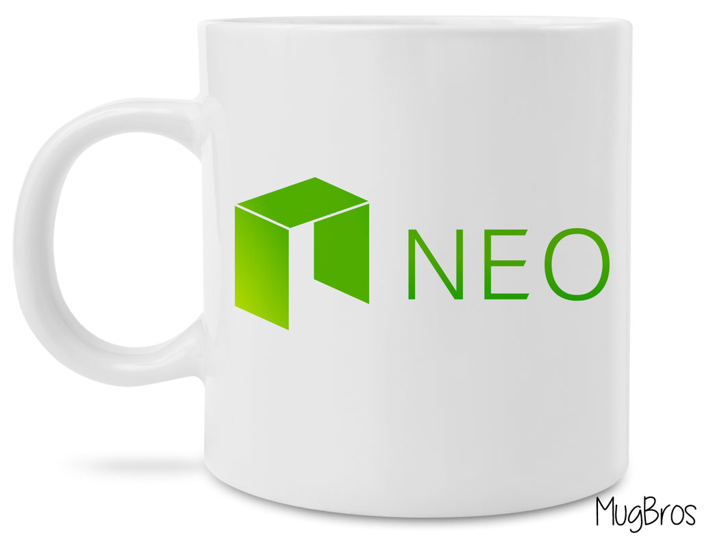 Neo Logo Crypto Currency Coffee Mug