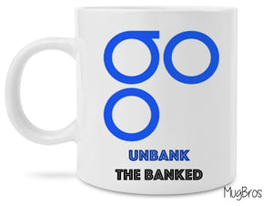 OmiseGo Unbank the Banked Crypto Currency Coffee Mug