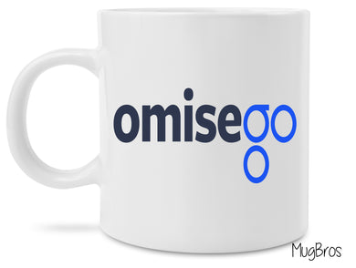 OmiseGo Logo Crypto Currency Coffee Mug