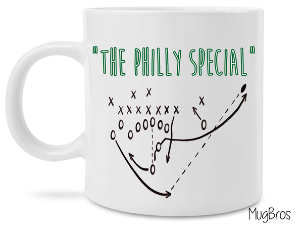 The Philly Special Eagles Nick Foles Trick Play Coffee Mug
